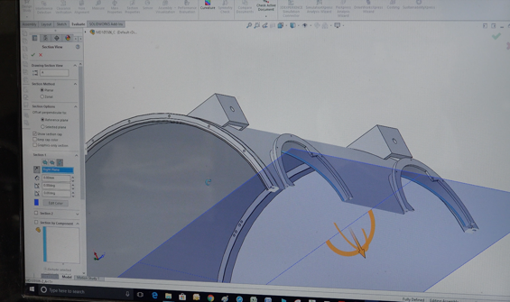 CAD/CAM product design for Metal Fabrication